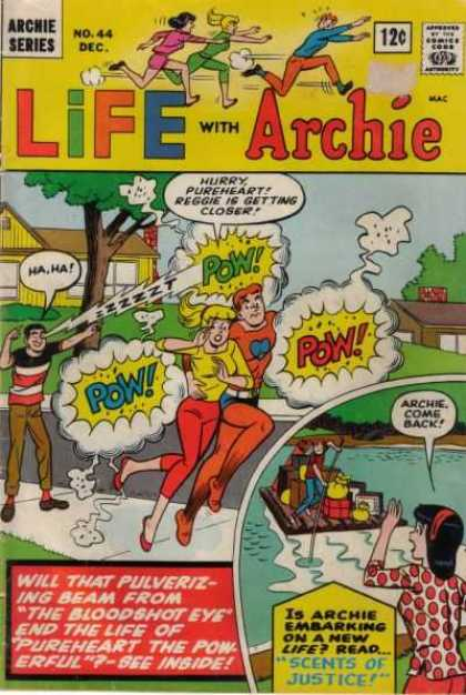 Life With Archie 44 - Archie Series - Arciecome Back - Girl - Boys - Street