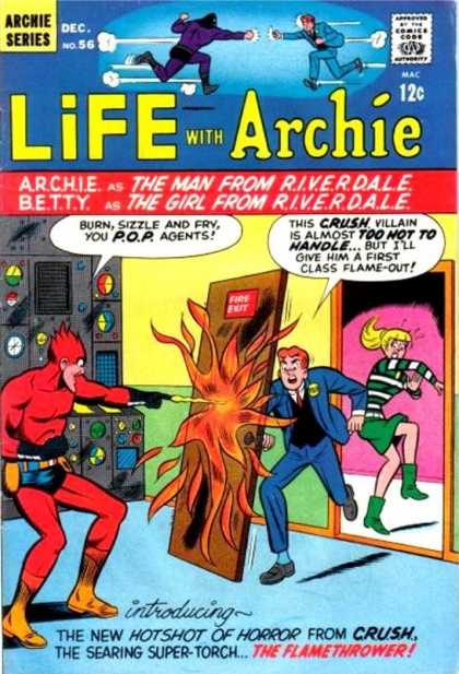 Life With Archie 56 - Archie Series - Riverdale - Man - Girl - Sizzle