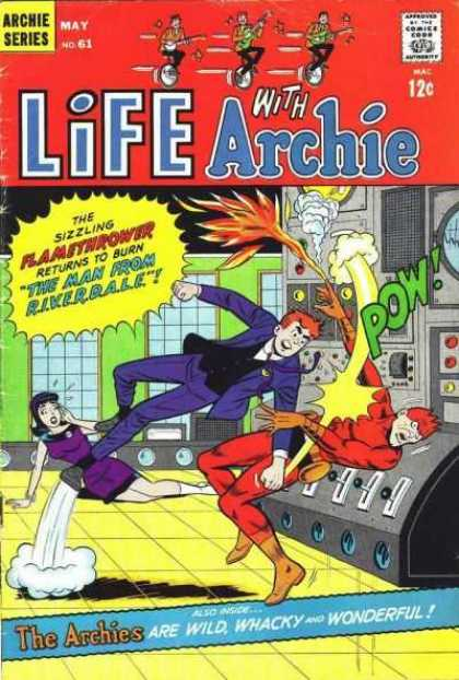 Life With Archie 61 - Pow - Purple - Flamethrower - Radar - Girl