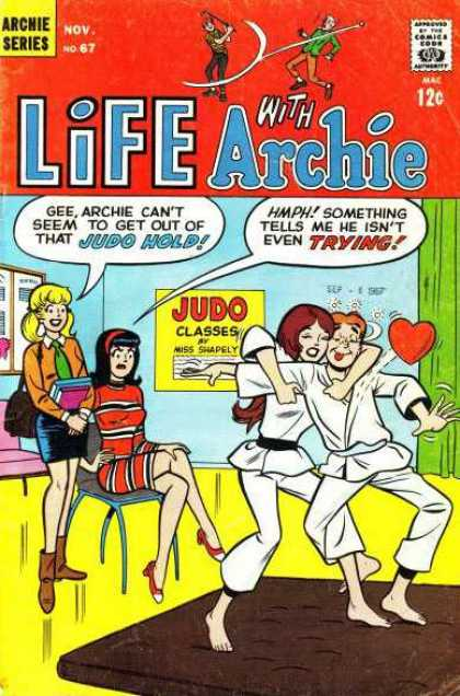 Life With Archie 67 - Archie - Betty - Veronica - Love