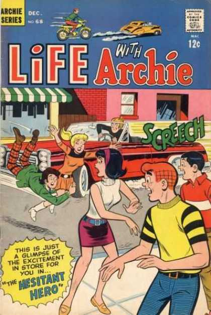 Life With Archie 68 - Car - Awning - Bike - Window - Betty