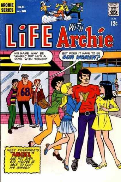 Life With Archie 80 - Archie Series - Comics Code - Boys - Girls - Street