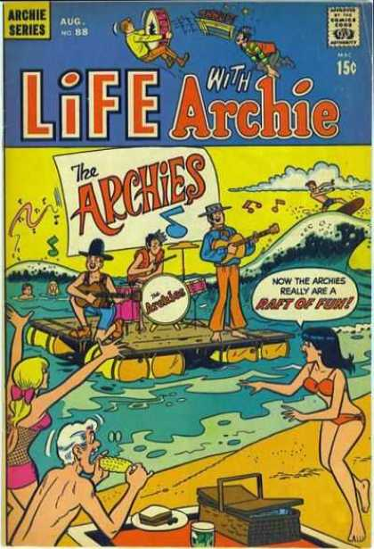 Life With Archie 88 - Archie Series - Approved By The Comics Code Authority - Aug No88 - Cap - Glittar