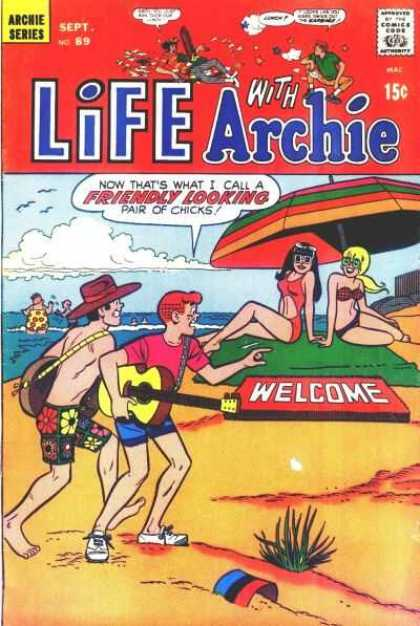 Life With Archie 89 - Umbrella - Guitars - Bucket - Green Blanket - Welcome