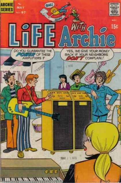 Life With Archie 97 - Archie Series - Power - Amplifiers - Guitars - Money