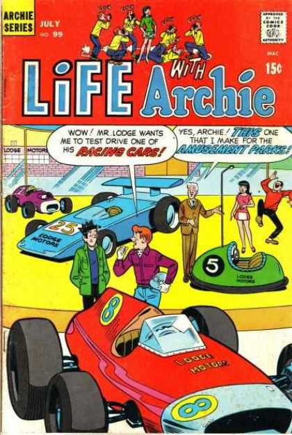 Life With Archie 99 - Bumper Cars - Racing Cars - Amusement Park - Helmet - Laughing