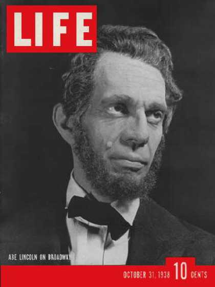 Life - Raymond Massey as Lincoln