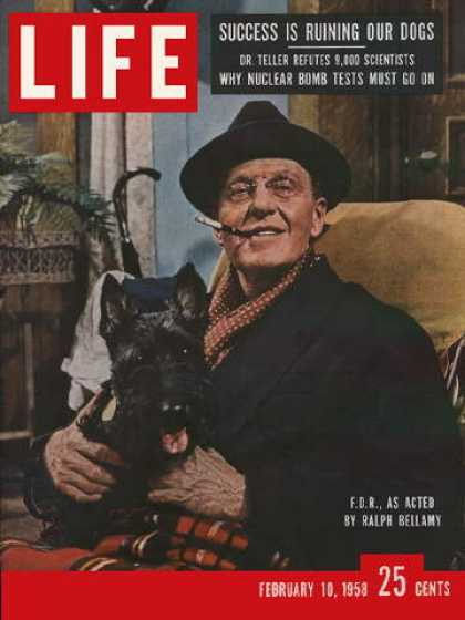 Life - Bellamy as Franklin D. Roosevelt
