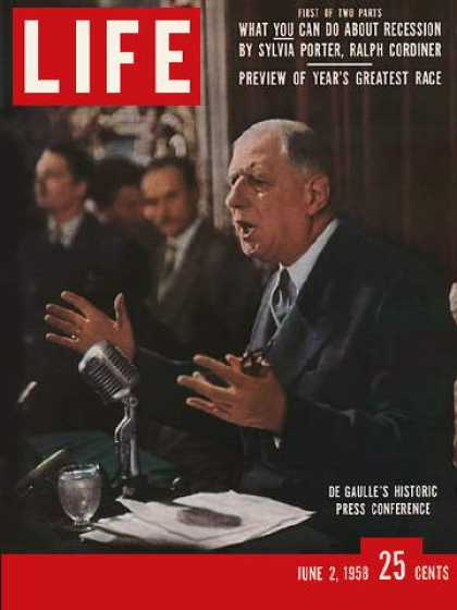 Life - De Gaulle seeks power