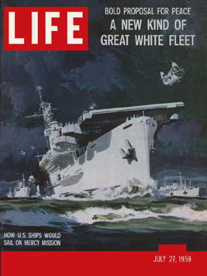 Life - Peace ships proposal