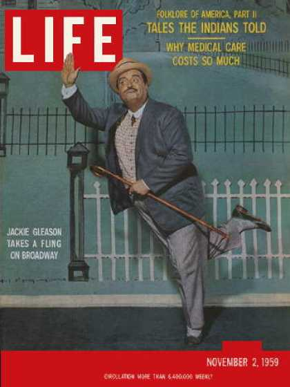 Life - Jackie Gleason on Broadway