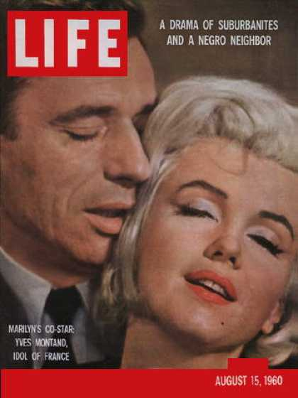 Life - Yves Montand and Marilyn Monroe
