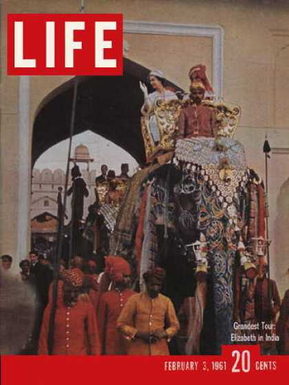 Life - Queen Elizabeth II in India