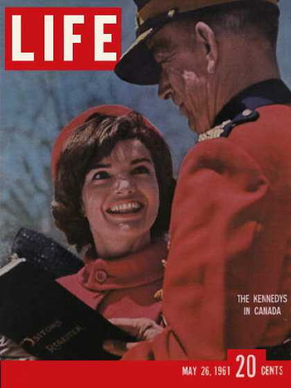 Life - Kennedys in Canada
