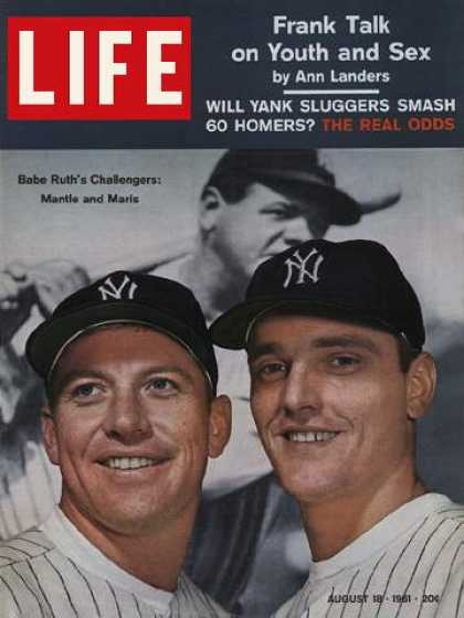 Life - Mickey Mantle and Roger Maris