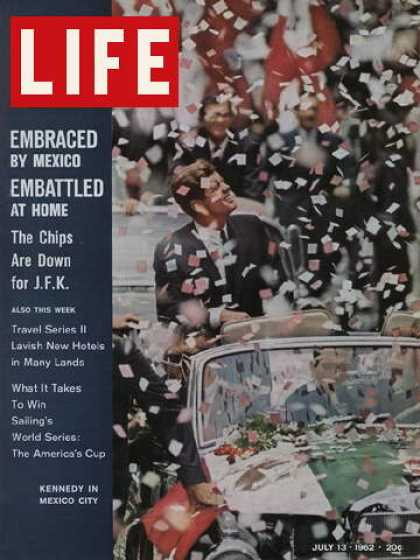 Life - John F. Kennedy in Mexico