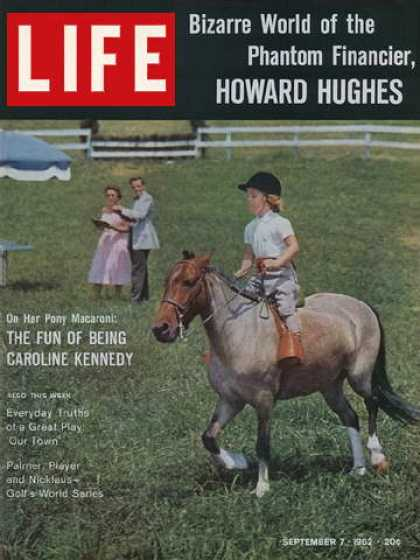 Life - Caroline Kennedy on her pony