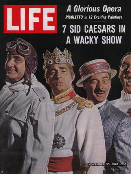 Life - Sid Caesar in Little Me