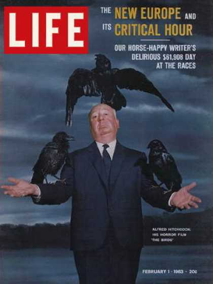 Life - Hitchcock and The Birds
