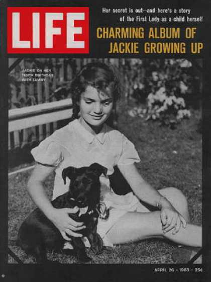Life - Young Jackie Kennedy