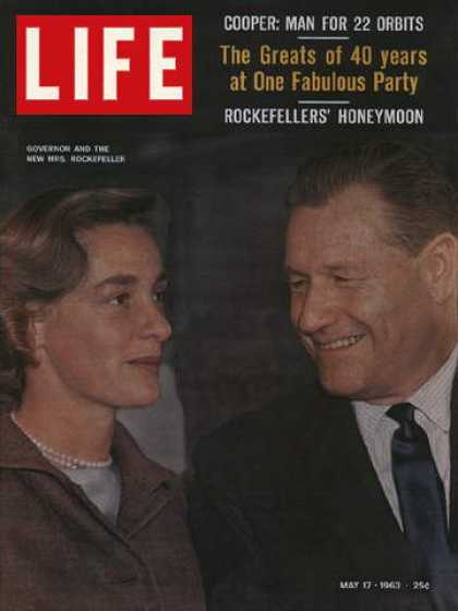Life - Governor Nelson and Happy Rockefeller