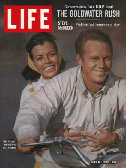 Life - Steve McQueen with wife Neile