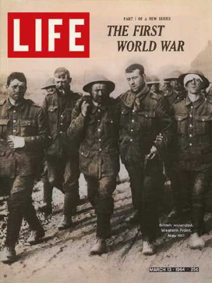 Life - World War I British Wounded
