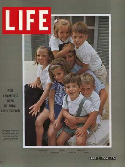 Life - Robert Kennedy and kids