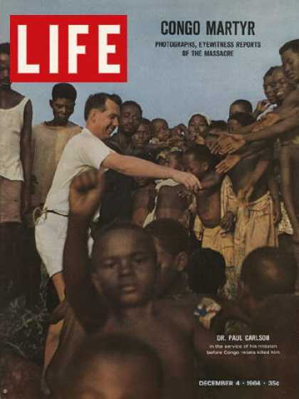 Life - Congo missionary Dr. Paul Carlson