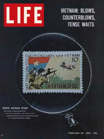 Life - North Vietnamese postage stamp