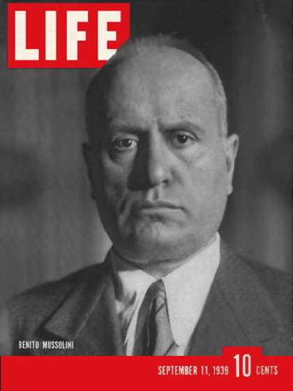 the life and influence of benito mussolini Brief biography of benito mussolini in world war ii.