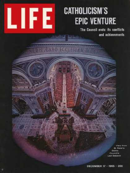 Life - View of Vatican Council from St. Peter's Dome