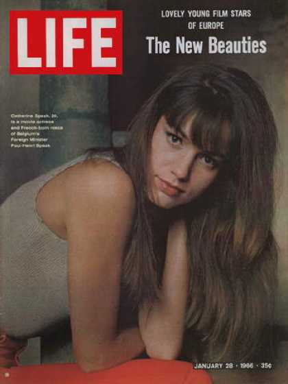 Life - Actress Catherine Spaak