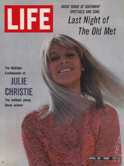 Life - Julie Christie