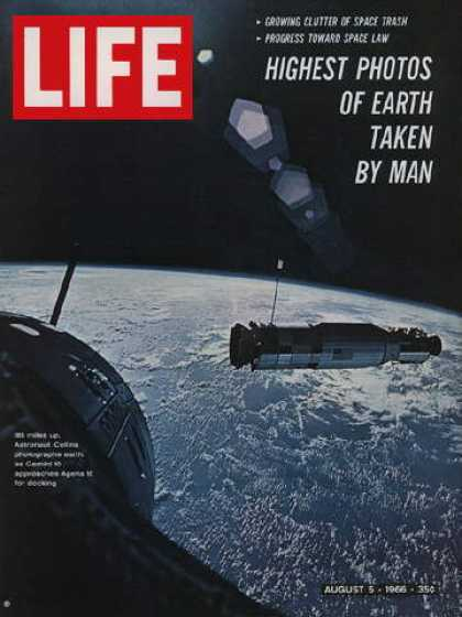 Life - Views from Gemini 10