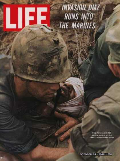 Life - Wounded marine
