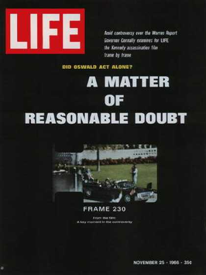 Life - John F. Kennedy assassination film
