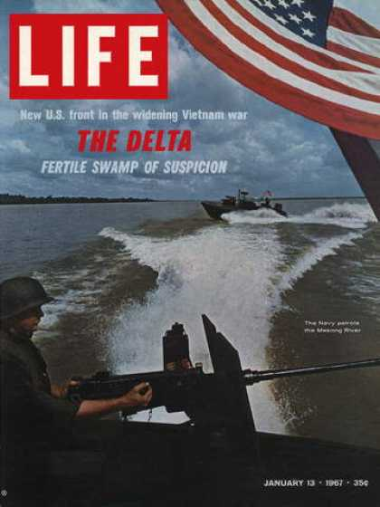 Life - Navy patrol in Mekong River