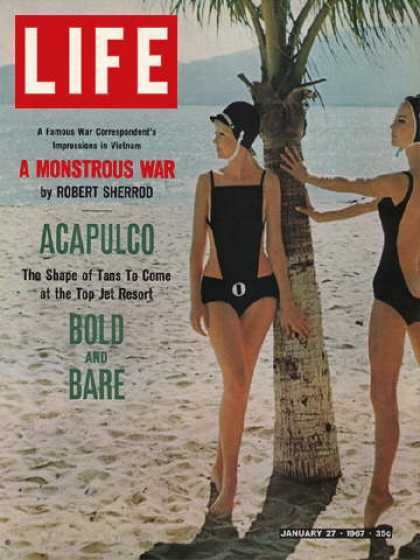 Life - Bathing suits in fashion at Acapulco