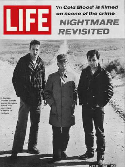 Life - Truman Capote with actors Scott Wilson and Robert Blake