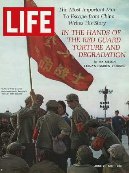 Life - China's cultural Red Guards