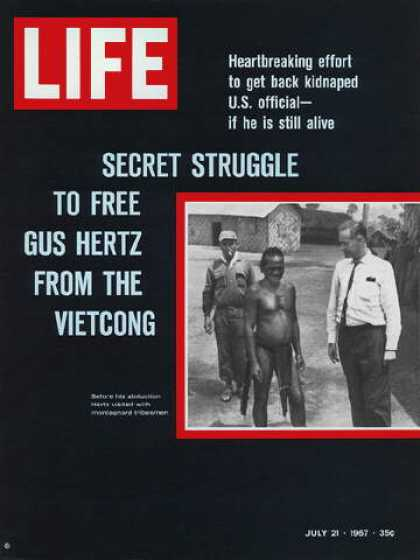 Life - Kidnapped U.S. Official in Vietnam