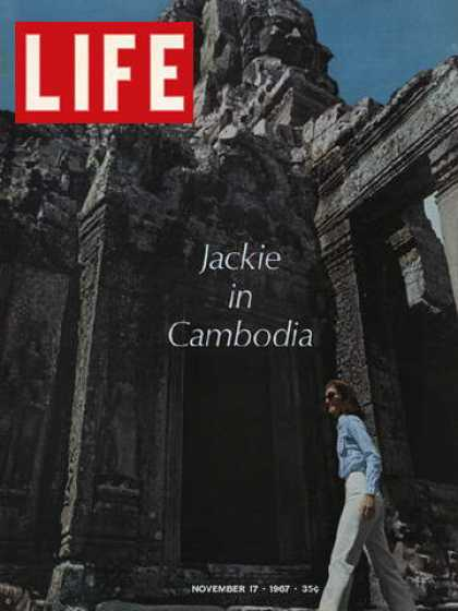 Life - Jacqueline Kennedy in Cambodia
