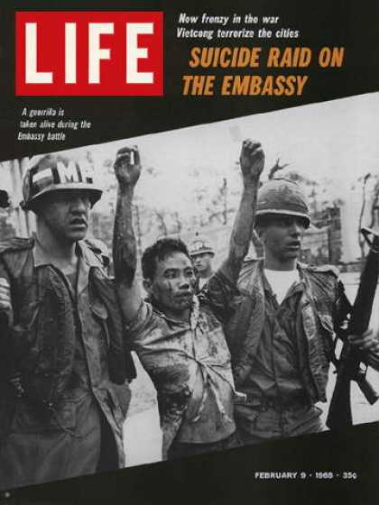 Life - Captured Vietcong guerillas