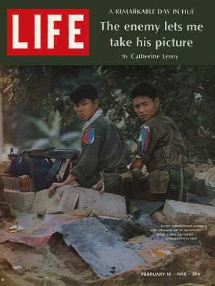 Life - North Vietnamese soldiers