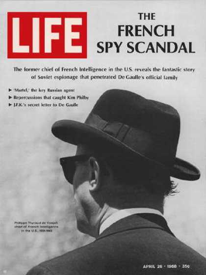 Life - Former French intelligence chief Philippe Thyraud de Vosjoli