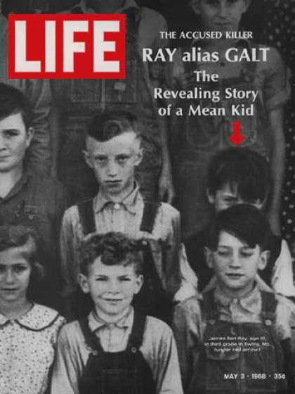 Life - Assassin James Earl Ray in third grade