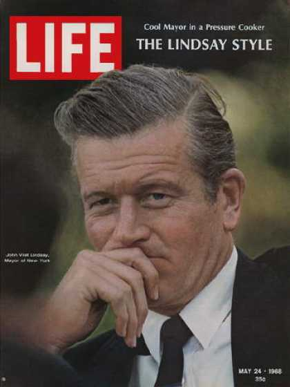 Life - New York City Mayor John Lindsay