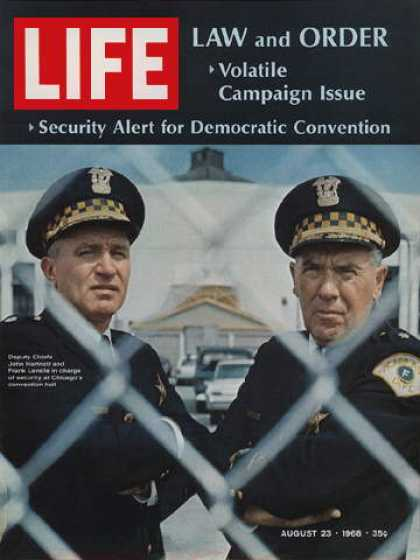 Life - Security chiefs at Chicago convention