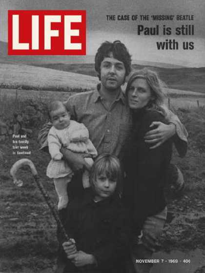 Life - Paul McCartney and family